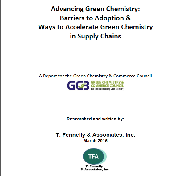Advancing Green Chemistry